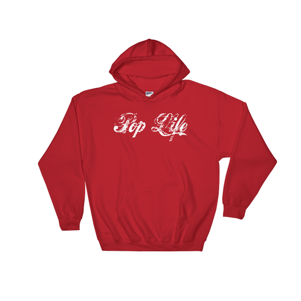"VinylWear ""Pop Life"" Hooded Sweatshirt w/ FPBST on back"