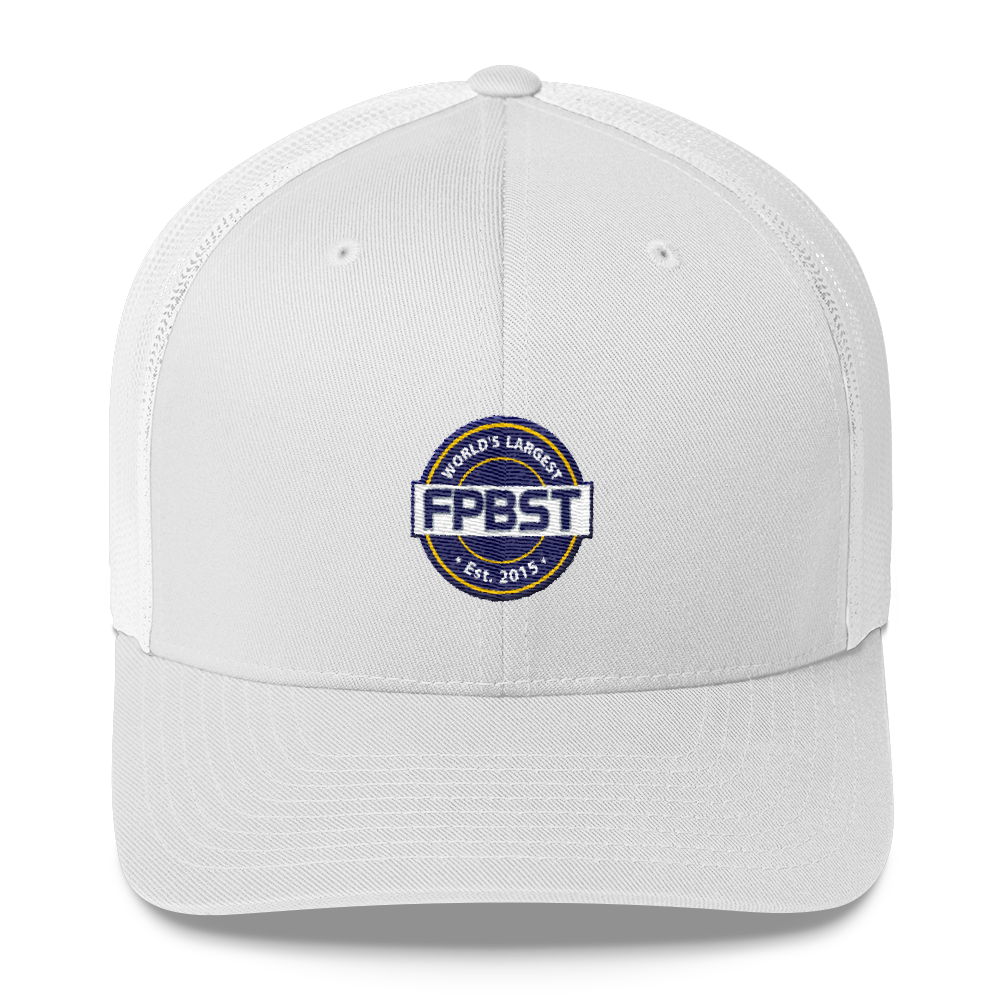 FPBST Logo Embroidered Trucker Cap