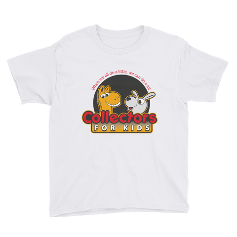 Collectors For Kids Logo Youth Short Sleeve T-Shirt