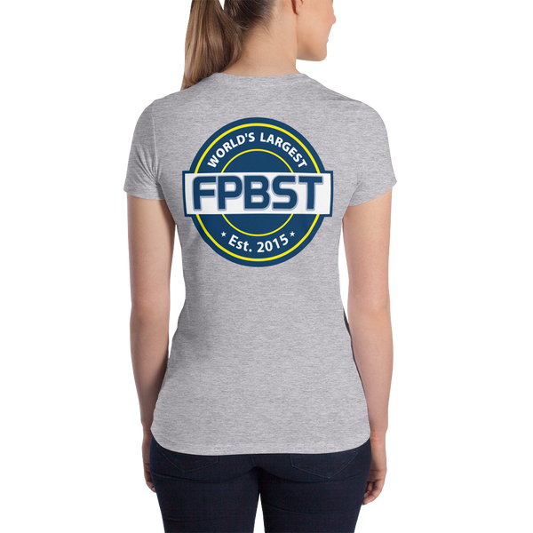 FPBST Logo Women's 2-sided Slim Fit T-Shirt