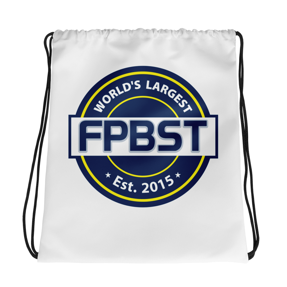 FPBST Logo Drawstring bag