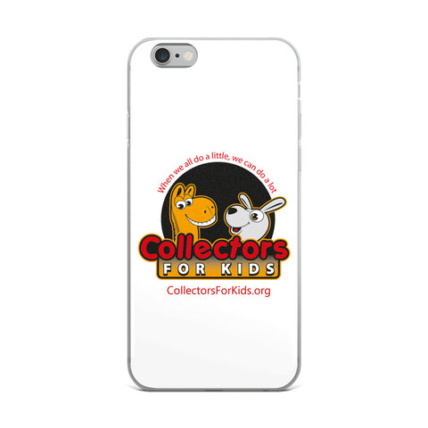 Collectors For Kids Logo iPhone Case