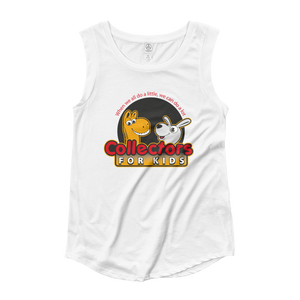 Collectors For Kids Logo Ladies' Cap Sleeve T-Shirt