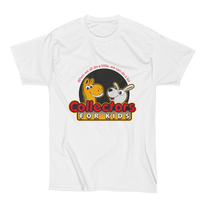 Collectors For Kids Logo Men's Short Sleeve Beefy-T Shirt