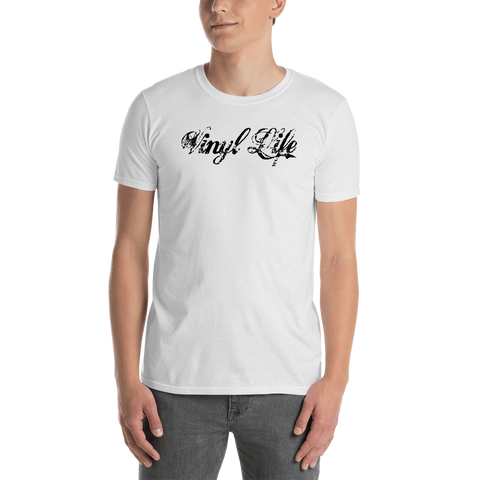 "VinylWear ""Vinyl Life"" Short-Sleeve Unisex T-Shirt w/ FPBST on back"