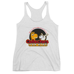Collectors For Kids Logo Women's Racerback Tank