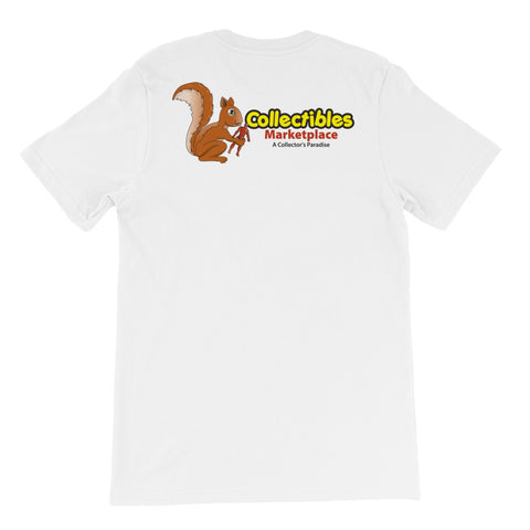 Collectibles Marketplace Logo 2-sided Short-Sleeve Unisex T-Shirt