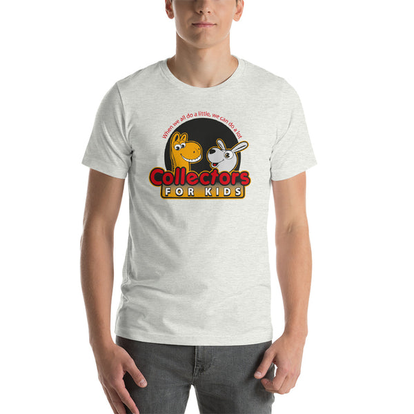 Collectors For Kids Logo Short-Sleeve Unisex T-Shirt