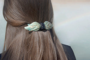Nephrite Barrette - Recollect Jewelry
