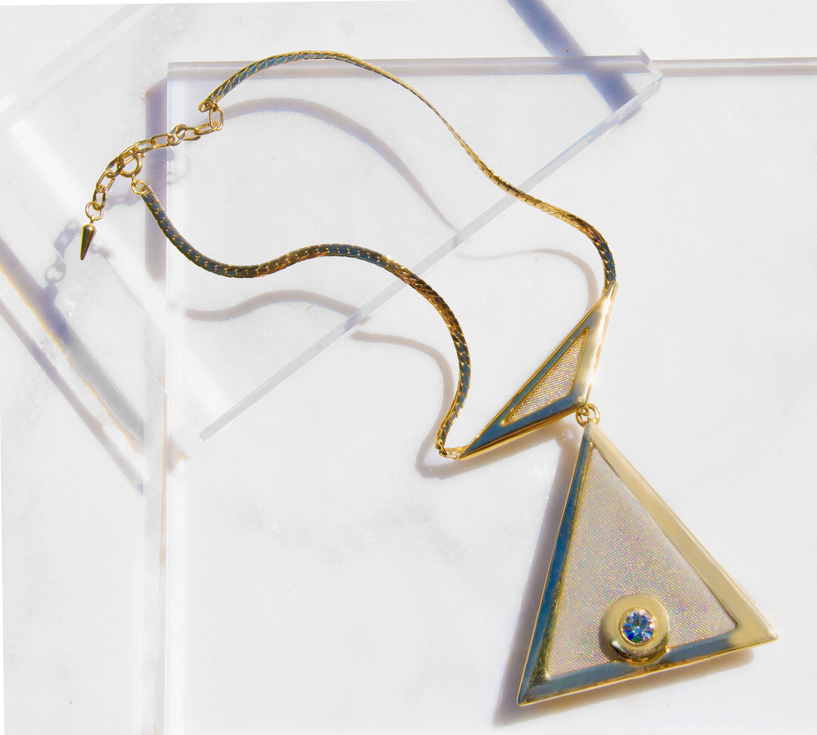 Prism Collar Necklace - Recollect Jewelry
