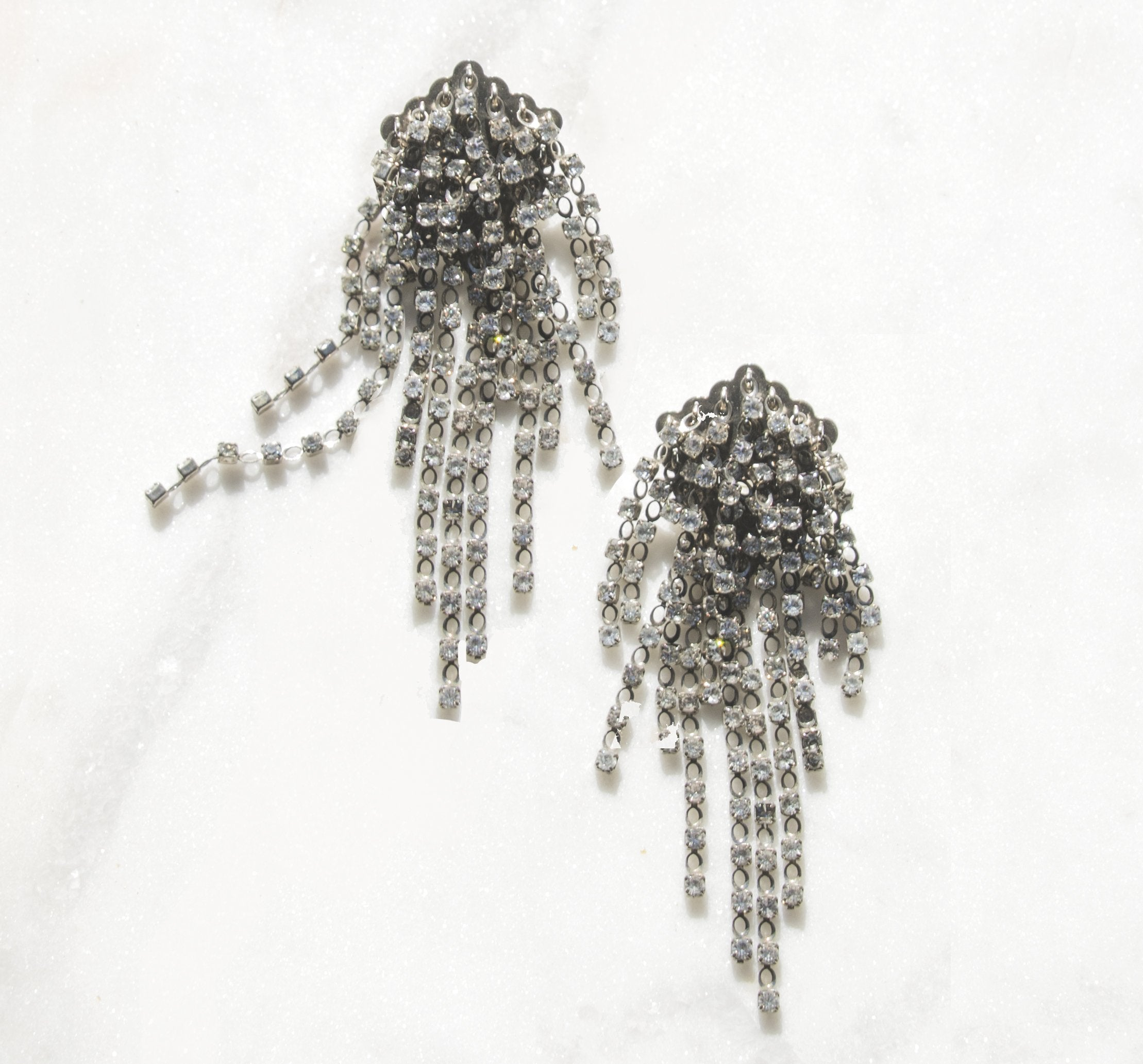 IV Rhinestone Earrings | Recollect Jewelry