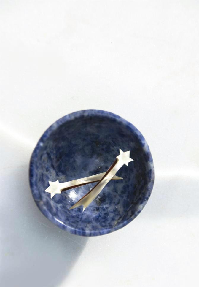 Sodalite Jewelry Bowl - Recollect Jewelry