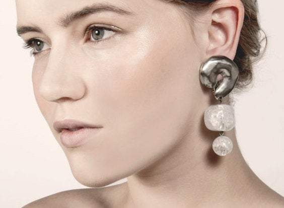 Aria Lucite Earrings / Recollect Jewelry