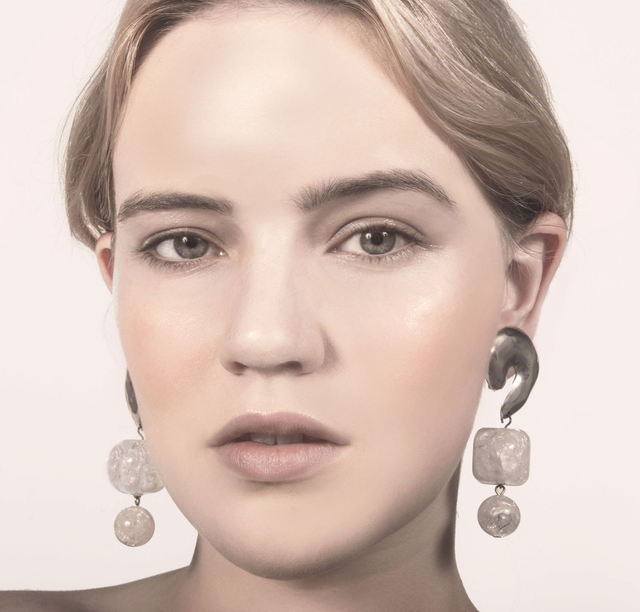 Arica Lucite Earrings / Recollect Jewelry