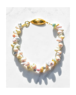 Carousel Shell Collar Necklace