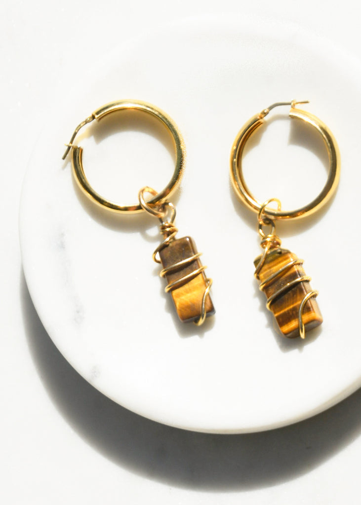 Lino Hoop Earrings