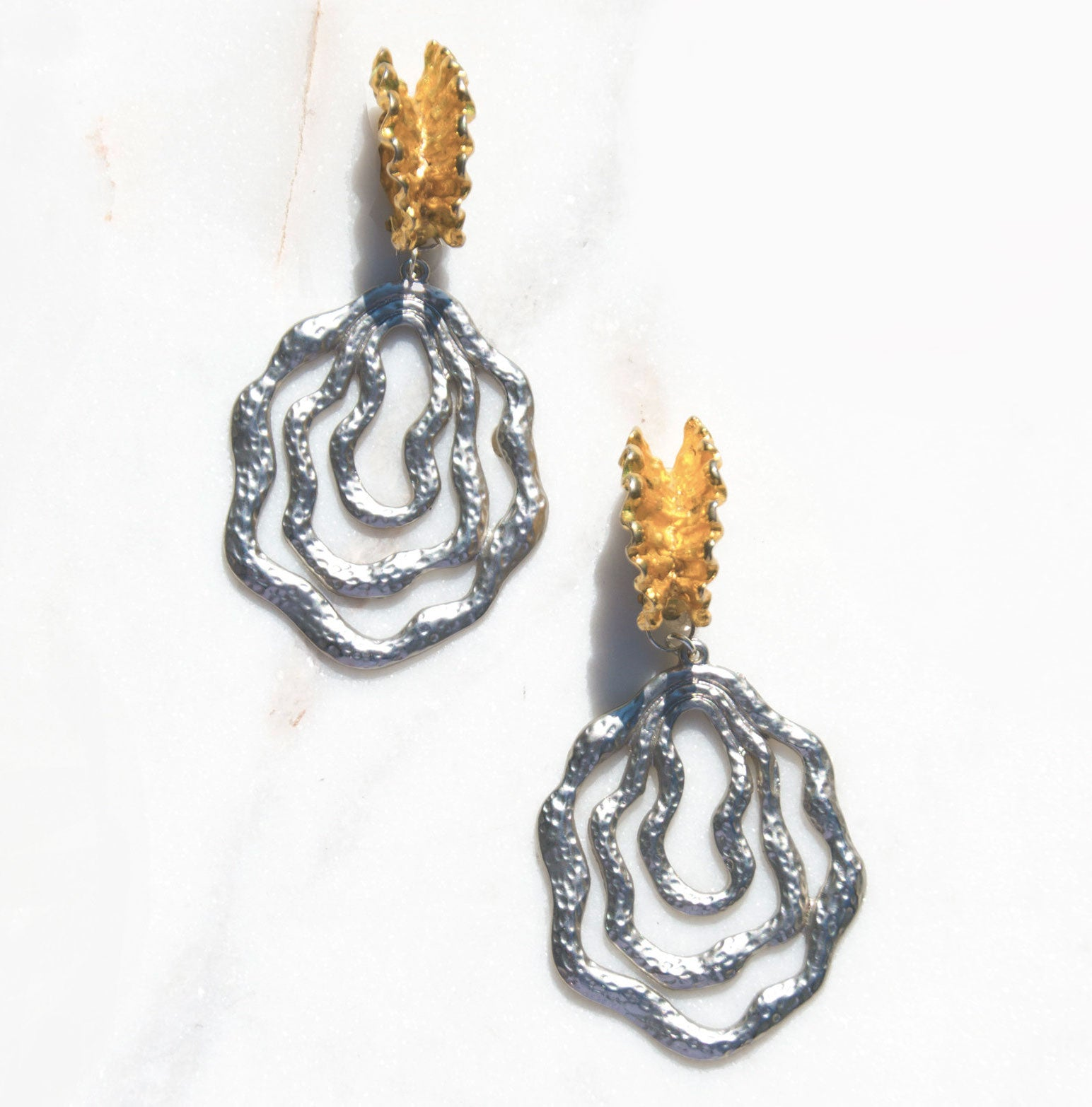 Momento Drop Earrings - Recollect Jewelry