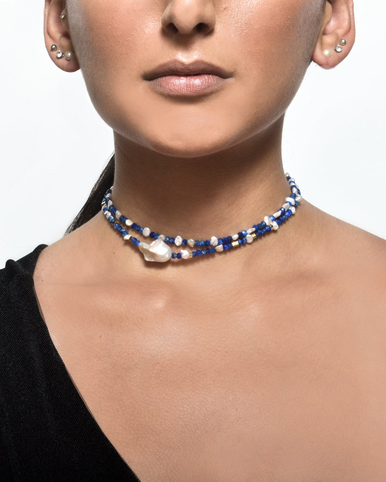 Sappho Collar Necklace Duo