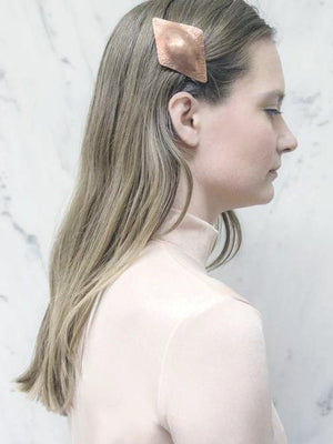 Stella Copper Barrette - Recollect Jewelry