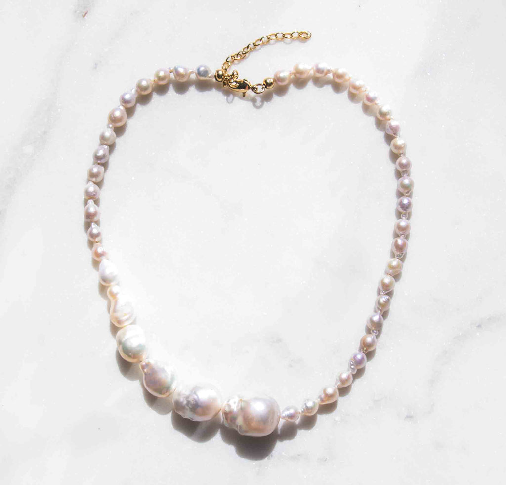 Succession Baroque Pearl Necklace