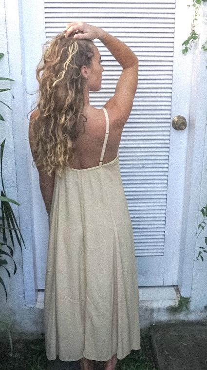 Kelsey Dress - Creme