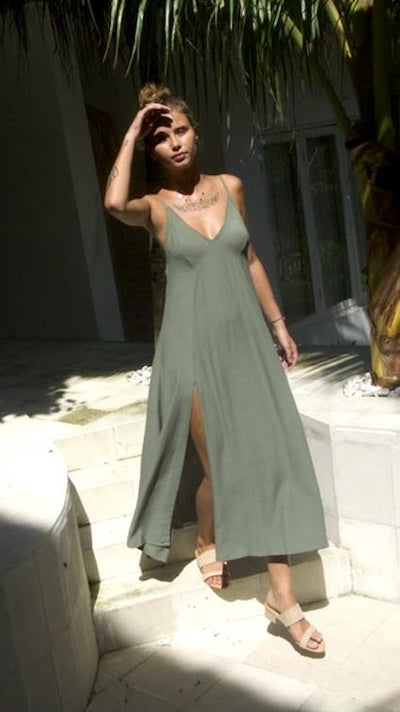 Kelsey Dress - Sage