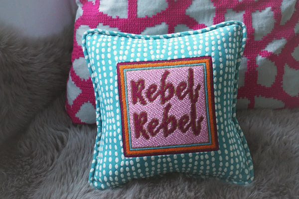 Thorn Alexander Rebel Rebel Contemporary Needlepoint Canvas