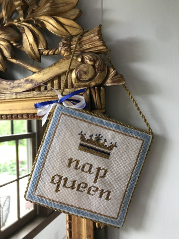 Nap Queen Thorn Alexander Contemporary Needlepoint Canvas