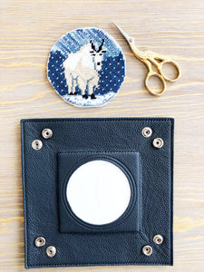 Navy Self-Finishing Valet Tray