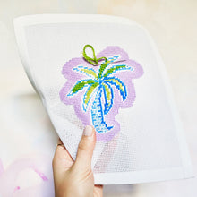Palm Tree Ornament Canvas