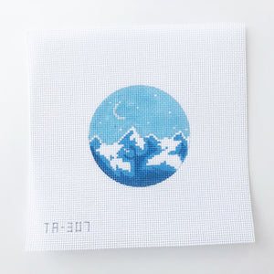 Blue Dream on 13 Needlepoint Kit