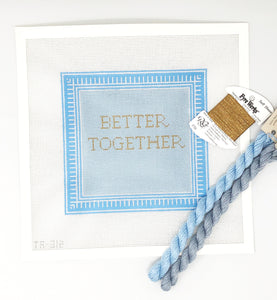 Better Together Needlepoint Kit