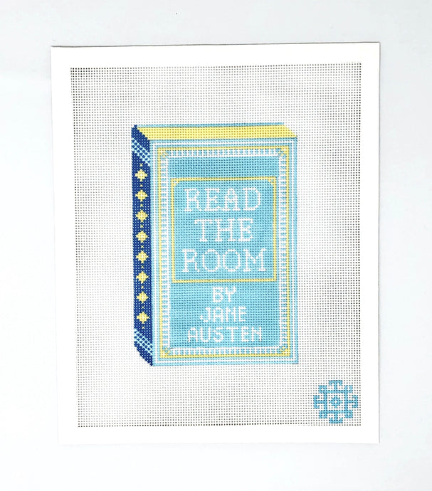 Brooke's Bookshelf Clutch Series: Read The Room by Jane Austen (Just Canvas)