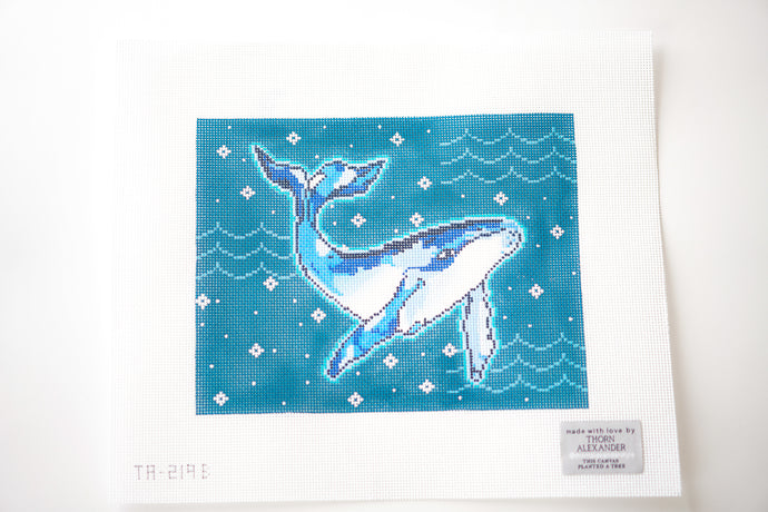 Mimi The Whale on 13 Needlepoint Kit