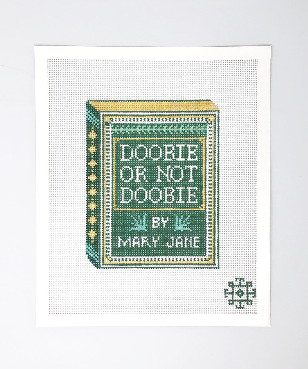 Brooke's Bookshelf Clutch Series: Doobie Or Not Doobie Canvas