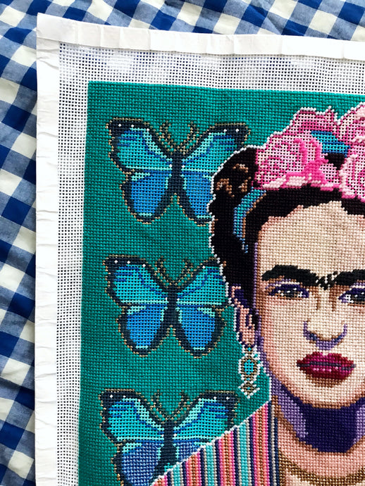 Frida Y Sus Mariposas Just Canvas