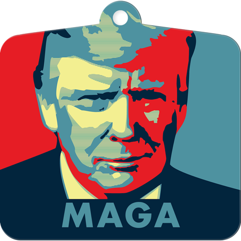 Make America Great Again Christmas Ornament