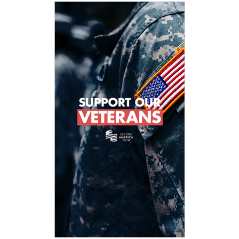 Support Our Veterans Wall Calendar