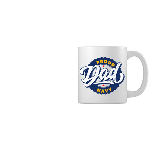 Proud Navy Dad Mugs