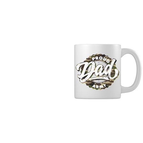 Proud Army Dad Mugs