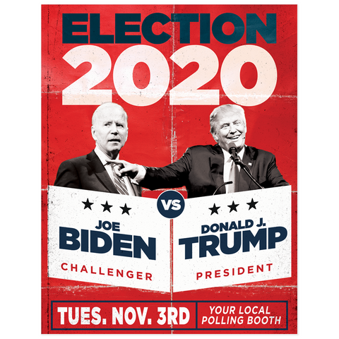 Election 2020 Poster