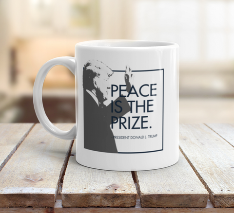 """Peace is the Prize"" -  Mug"