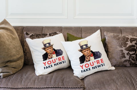 You're Fake News Pillow