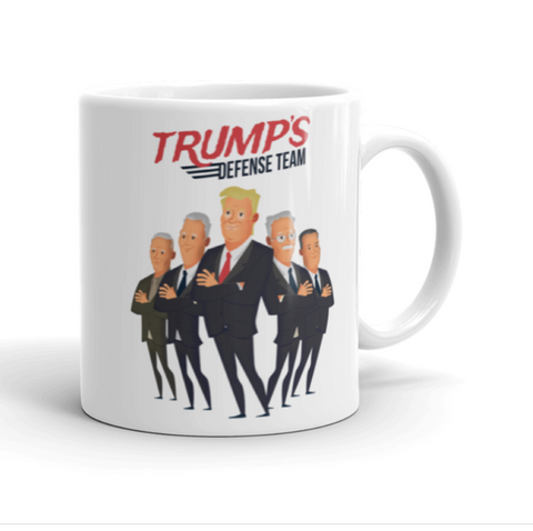 Trump's Defense Team Mug