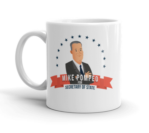 Mike Pompeo for Secretary of State Mug