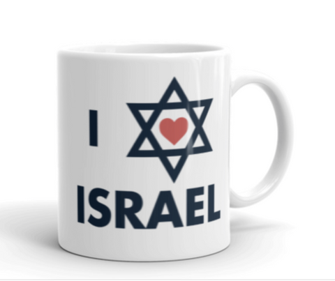 I Love Israel - Mugs