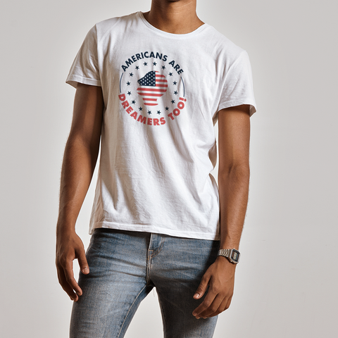 Americans are Dreamers Too - Short Sleeve T-Shirt