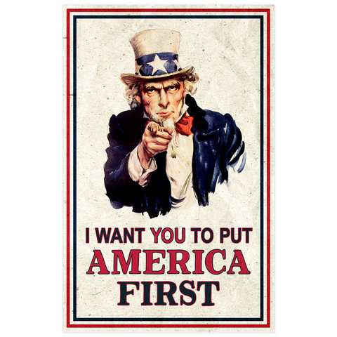 America First Poster