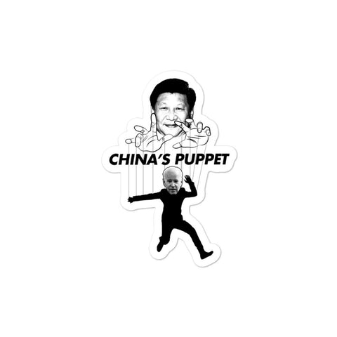 Joe Biden: China's Puppet Stickers