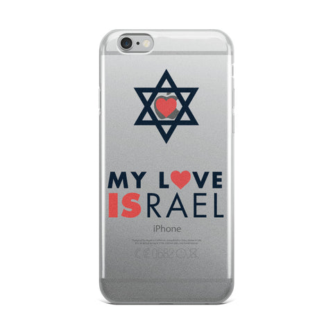 My Love ISRAEL - iPhone Case